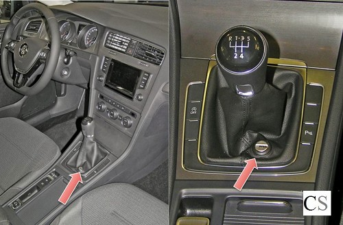 2019 meilleures ventes nouvelle sélection moderne et élégant à la mode Versnellingsbakslot VW Golf 7 handgeschakeld vanaf 2013
