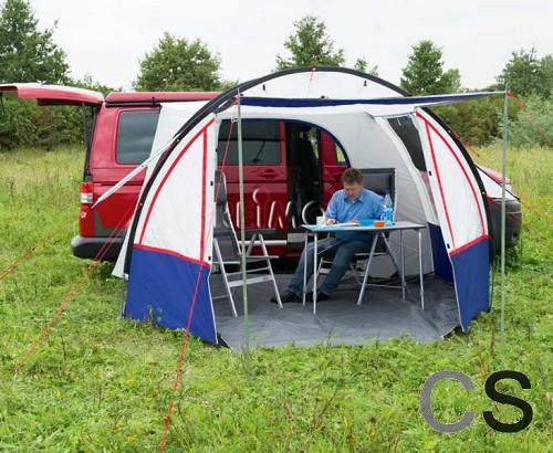 Tenten campersalon webwinkel en werkplaats voor camper for Luifel caravan aanbieding