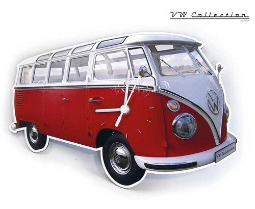 Wandklok Volkswagen Collection T1 Samba