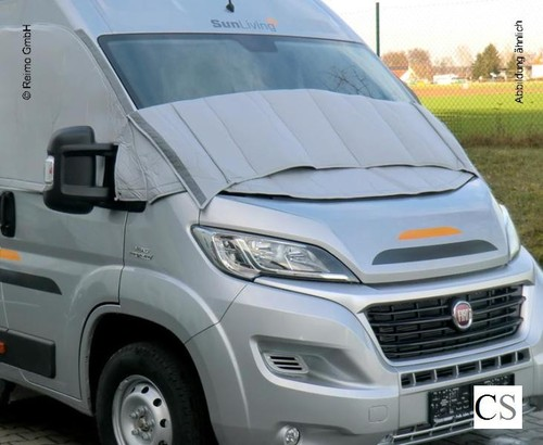 Raamisolatie extern Ford Transit 2001-2014, Cover Glass Lux