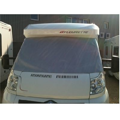 Zonnescherm Visioplair privacy sun screen Fiat Ducato x250 x290