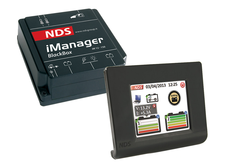 I-Manager NDS Wireless, automatisch accu beheer