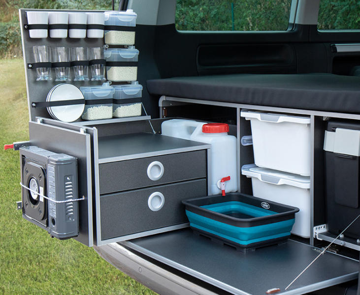 CampingBox L-CM voor VW T5/T6 Multivan en California Beach