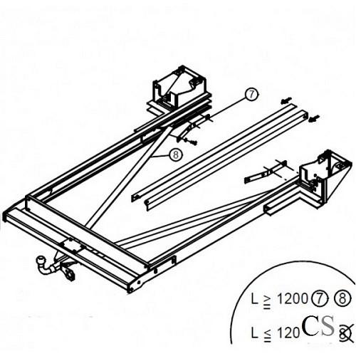 chassisverlenging voor fiat ducato 230 244 1994 2006. Black Bedroom Furniture Sets. Home Design Ideas