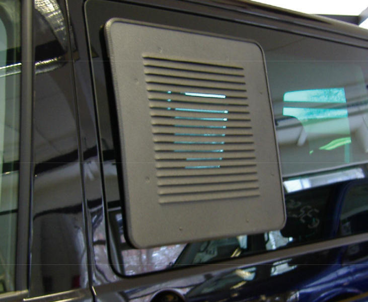 Ventilatierooster VW T5 T6 Schuifraam Links
