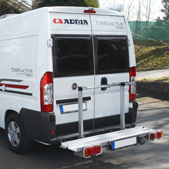 Super Scooterdrager Euro Carry Slide voor buscampers Fiat Ducato tot WR-23